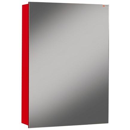 Шкаф-зеркало ДОМИНО Хеппи 50 L/R Красный левый/правый