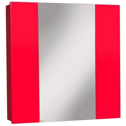 Шкаф-зеркало ДОМИНО Оскар 70 Нова L/R Красный левый/правый
