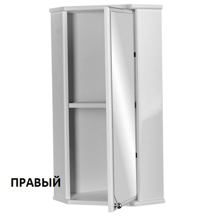 Шкаф-зеркало ДОМИНО Угловой